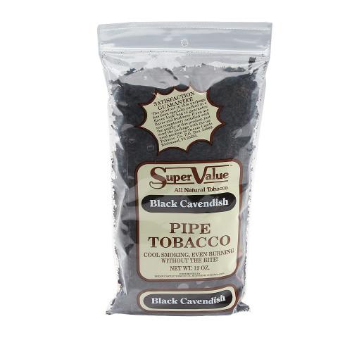 Super Value Black Cavendish Pipe Tobacco | 12 OZ BAG