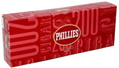 Phillies Filtered Sweet Cigars (10 packs of 20) - Natural
