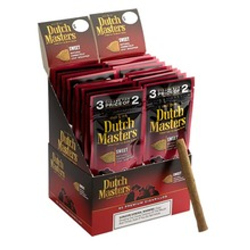 Dutch Masters Cigarillos Sweets Cigars (20 packs of 3) - Natural