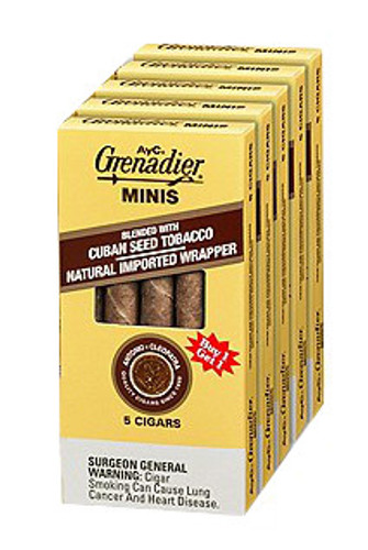 Antonio Y Cleopatra Mini Cigars (5 Packs Of 5) - EMS