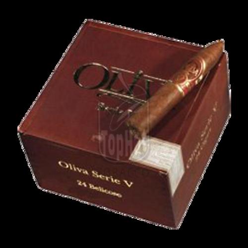 Oliva Serie V Belicoso Cigars - 5 x 54
