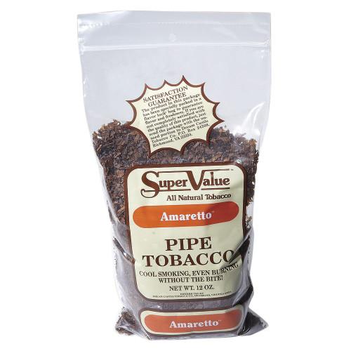 Super Value Amaretto Pipe Tobacco | 12 OZ BAG