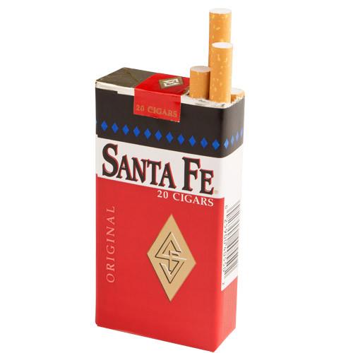 Santa Fe Filtered Original Cigars (10 packs of 20) - Natural