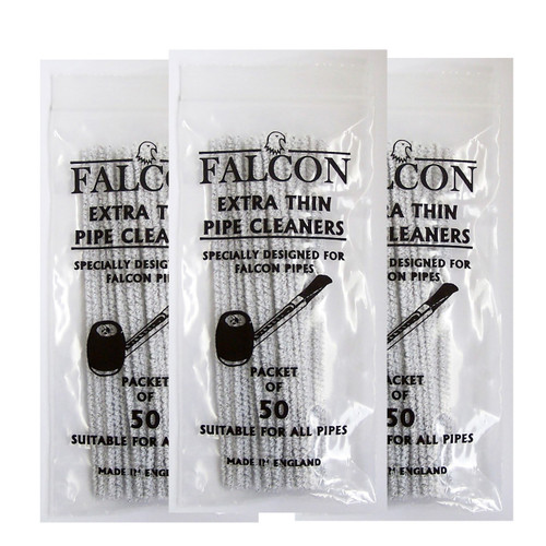 Falcon Extra Thin Cleaners (3 packages of 50)