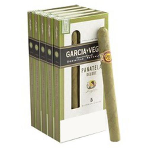 Garcia Y Vega Panatela Deluxe Cigars (5 Packs Of 5) - Candela