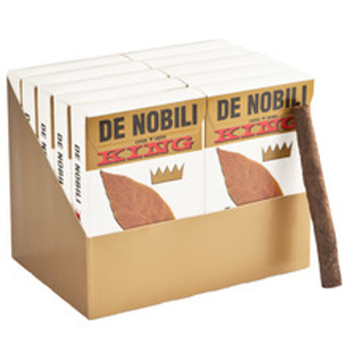 De Nobili Kings Cigars (10 Packs Of 5) - Natural
