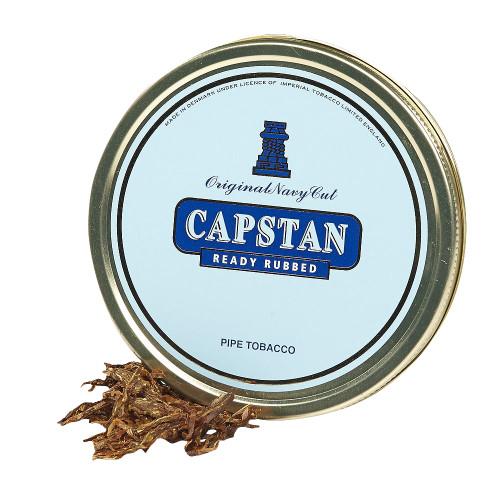 Capstan Blue Ready-Rubbed Pipe Tobacco | 1.75 OZ TIN