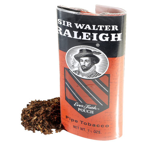 Sir Walter Raleigh Regular Pipe Tobacco | 1.5 OZ POUCH - 6 COUNT