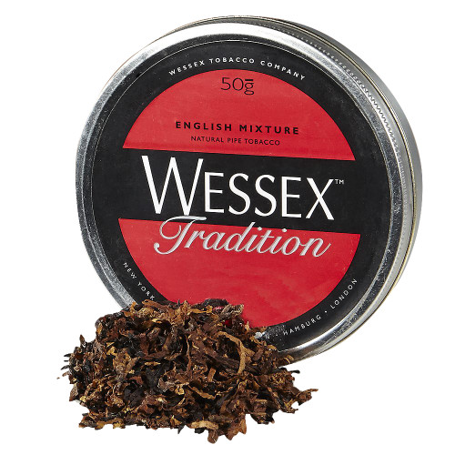 Wessex Tradition Pipe Tobacco | 1.75 OZ TIN