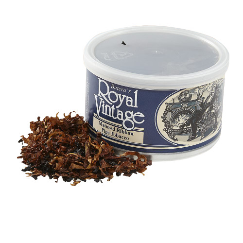 Butera Matured Ribbon Pipe Tobacco | 1.75 OZ TIN