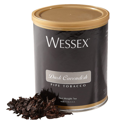 Wessex Dark Cavendish Pipe Tobacco | 7 OZ TIN