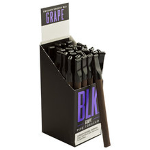 Swisher Sweets BLK Cigarillos Grape Tip Cigars (15 Packs of 2) - Maduro