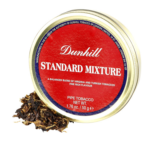 Dunhill Standard Mixture Medium Pipe Tobacco | 1.75 OZ TIN