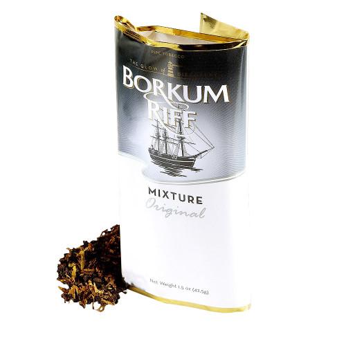 Borkum Riff Original Pipe Tobacco | 1.5 OZ POUCH  - 5 COUNT