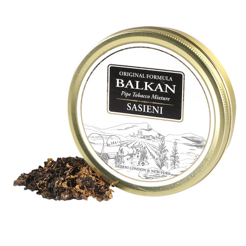 Balkan Sasieni Pipe Tobacco | 1.75 OZ TIN