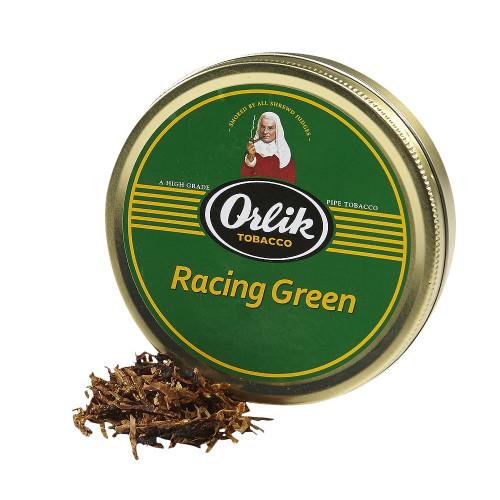 Orlik Racing Green Pipe Tobacco | 1.75 OZ TIN