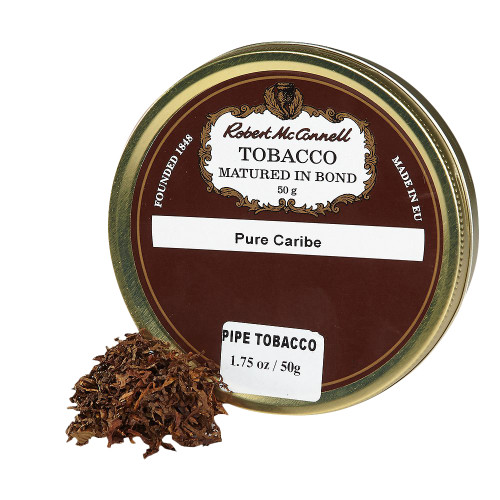 McConnell's Pure Caribe Pipe Tobacco | 1.75 OZ TIN