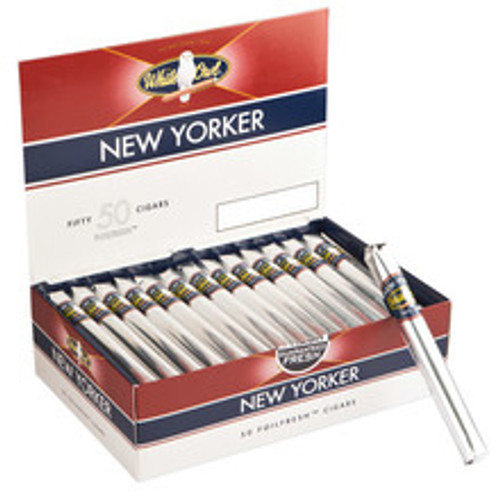 White Owl New Yorker Cigars (Box of 50) - Natural