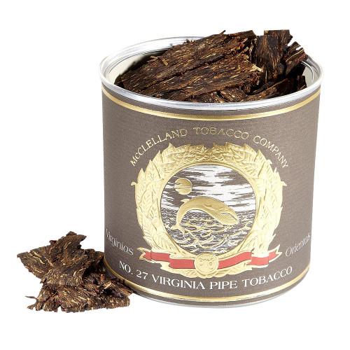 McClelland Matured Virginias No. 27 Pipe Tobacco | 3.5 OZ TIN