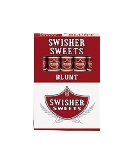 Swisher Sweets 5 for 3 Blunt Cigars (10 Packs of 5) - Natural