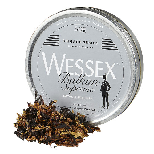 Wessex Brigade Balkan Supreme Pipe Tobacco | 1.75 OZ TIN