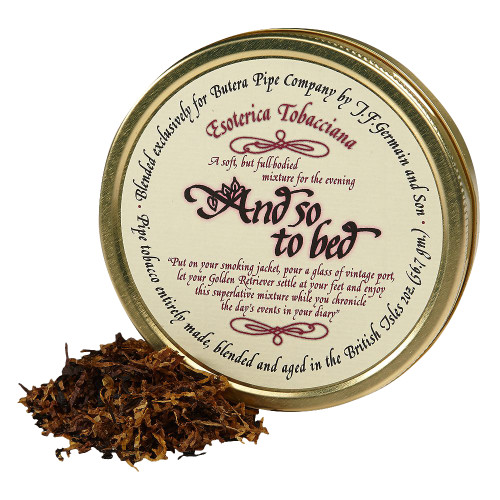 Esoterica And So To Bed Pipe Tobacco | 2 OZ TIN