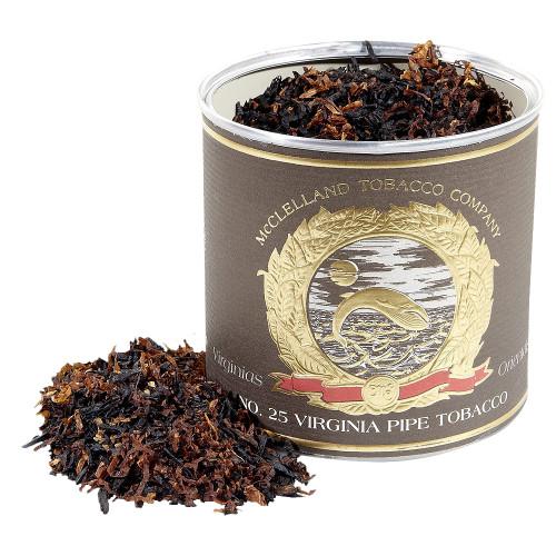 McClelland Matured Virginias No. 25 Pipe Tobacco | 3.5 OZ TIN