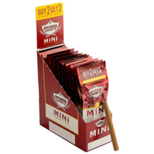 Swisher Sweets Mini Sweets Cigars (15 Packs Of 3) - Natural