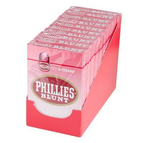 Phillies Blunt Strawberry Cigars (10 Packs Of 5) - Natural