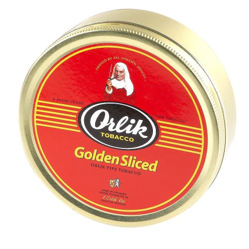 Orlik Golden Sliced Pipe Tobacco | 3.5 OZ TIN