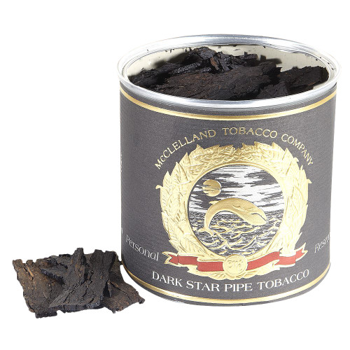 McClelland Dark Star Pipe Tobacco | 3.5 OZ TIN