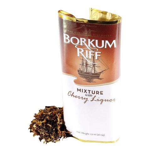 Borkum Riff Cherry Liquor Pipe Tobacco | 1.5 OZ POUCH  - 5 COUNT