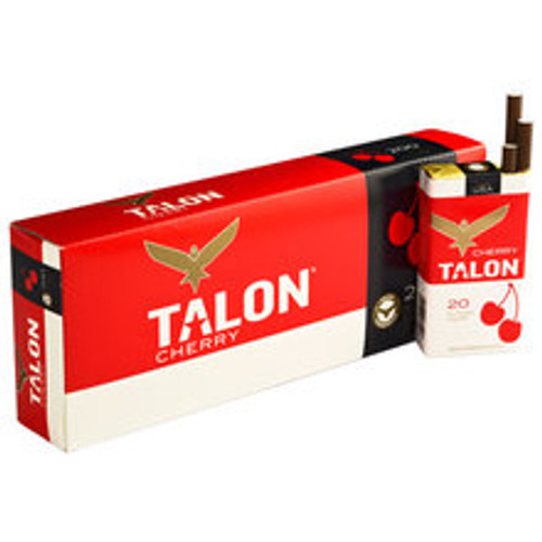 Talon Filtered Cherry Cigars (10 Packs of 20) - Natural