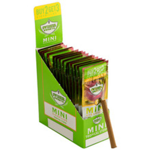 Swisher Sweets Mini Tropical Storm Cigars (15 Packs Of 3) - Natural