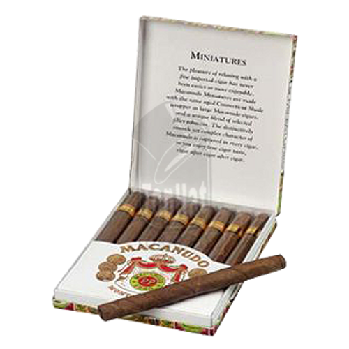 Macanudo Miniatures Cigars - 3 x 24 (10 packs of 8)