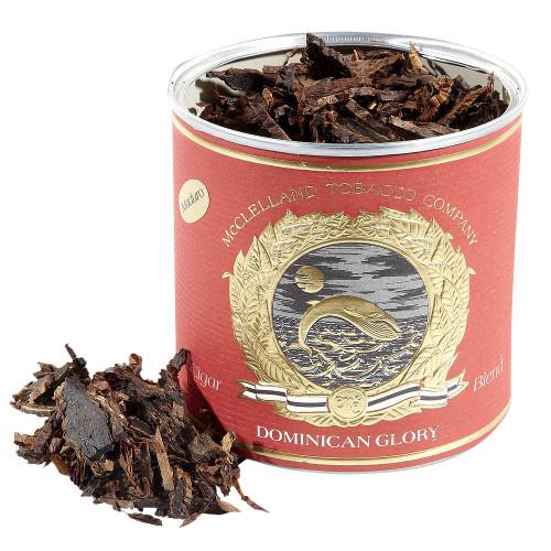 McClelland Cigar Blends Dominican Glory Maduro Pipe Tobacco | 3.5 OZ TIN