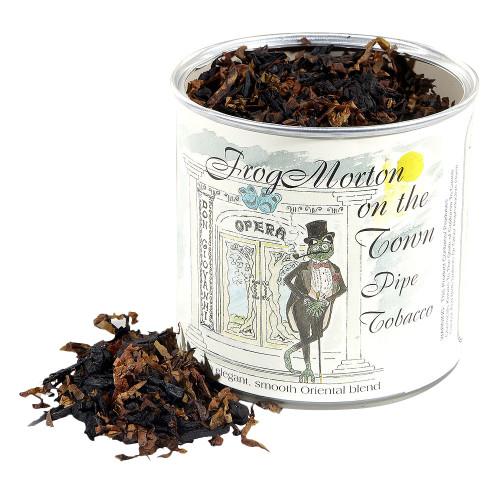 McClelland Frog Morton on the Town Pipe Tobacco | 3.5 OZ TIN