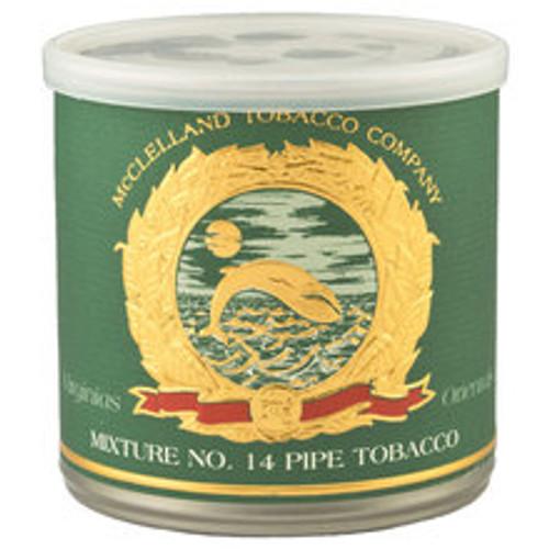 McClelland Oriental Mixture No. 14 Pipe Tobacco | 3.5 OZ TIN