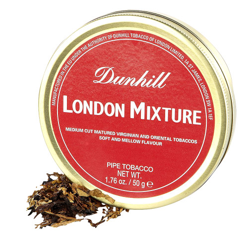 Dunhill London Mixture Pipe Tobacco | 1.75 OZ TIN