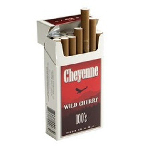 Cheyenne Filtered Wild Cherry Cigars (10 Packs of 20) - Natural