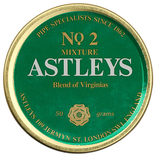 Astleys No. 2 Mixture Pipe Tobacco | 1.75 OZ TIN
