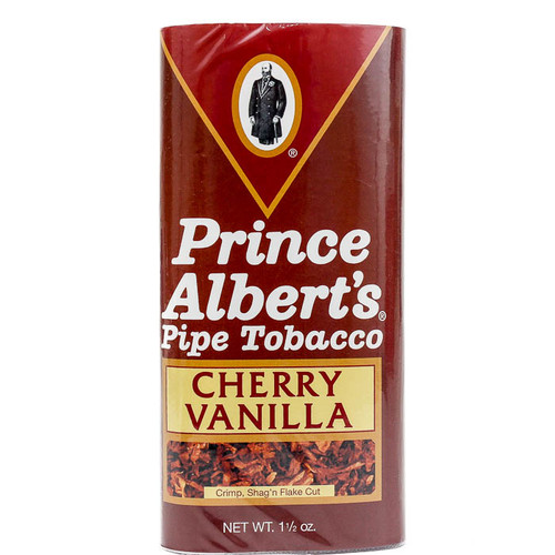 Prince Albert Cherry Vanilla Pipe Tobacco | 1.50 OZ POUCH - 6 COUNT