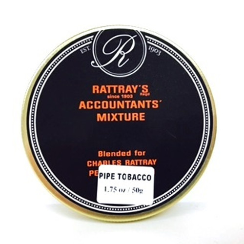 Rattray's Accountants Mixture Pipe Tobacco | 1.75 OZ TIN