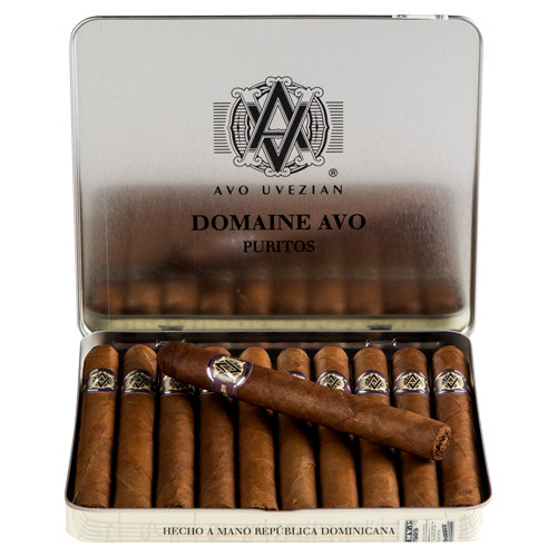 AVO Domaine Puritos Cigars - 4 x 30 (10 Tins of 10 (100 total))