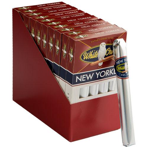 White Owl New Yorker Cigars (10 Packs Of 5) - Natural