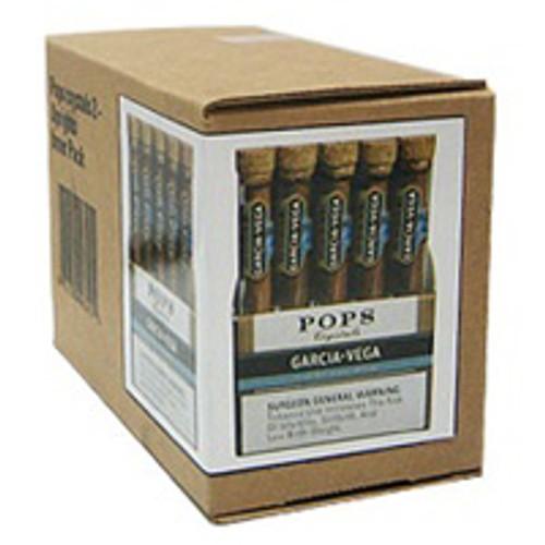 Garcia Y Vega Pops Crystals Sweet And Mild Cigars (Box of 50) - Natural