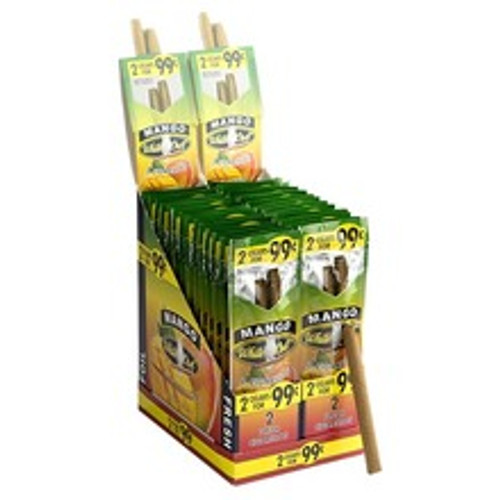 White Owl Cigarillos Mango Cigars (30 Packs of 2) - Natural