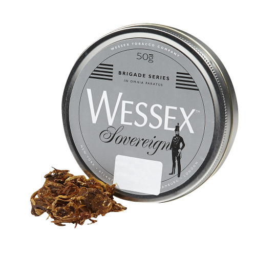 Wessex Brigade Sovereign Pipe Tobacco | 1.75 OZ TIN
