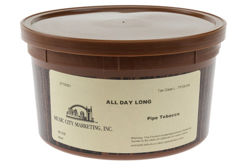 MCM Sutliff All Day Long Bulk Pipe Tobacco 1lb