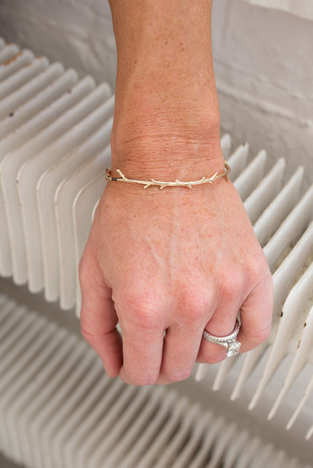 Branch Cuff Bracelet - Gold - FINAL SALE